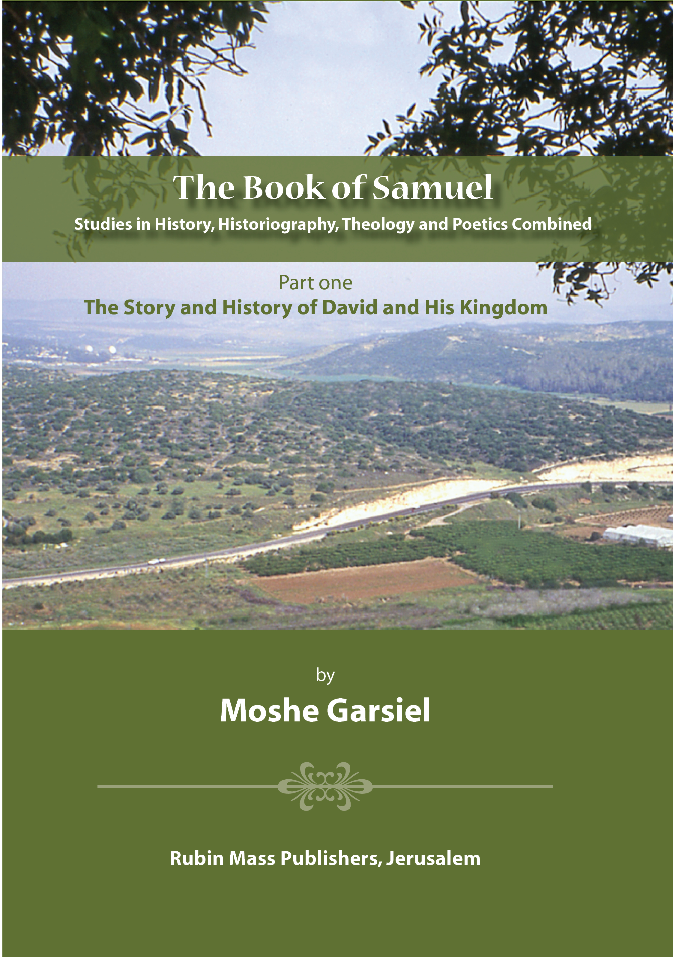 The Book of Samuel; Part 1 / Garsiel,Moshe